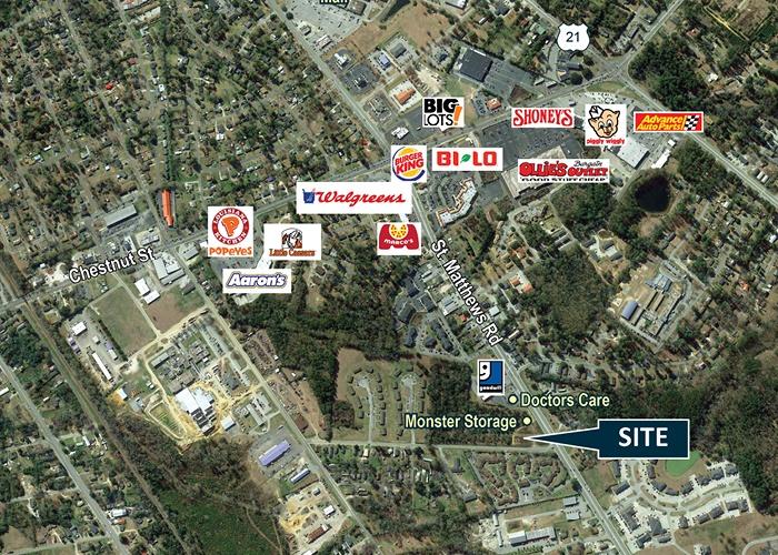 1799-1769 St Matthews Rd NE, Orangeburg, South Carolina, ,Land,For Sale,1799-1769 St Matthews Rd NE,1017